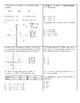 Fractions, Decimals, Percents, & Negative Numbers Puzzle