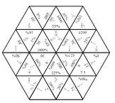 Fractions, Decimals, Percents Puzzle