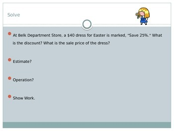 Fractions, Decimals, Percents, with Ratios in Word Problems
