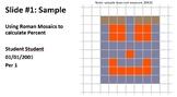 Fractions, Decimals, Percents with Roman Mosaics