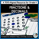 Fractions and Decimals | TEKS Math Activities