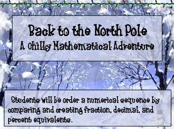 Fractions, Decimals, and Percent Equivalents:  A Winter Themed Math Activity