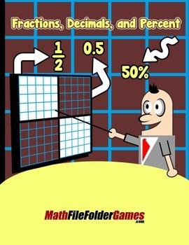 Fractions, Decimals, and Percent {Math Games}