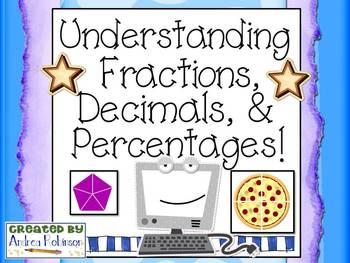 Fractions, Decimals, and Percentage Practice