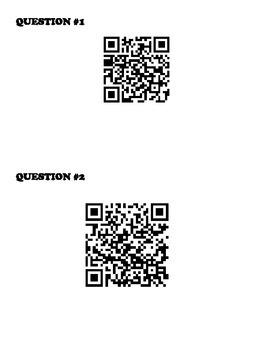 Fractions, Decimals, and Percentages QR Code Walkabout