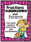 Fractions Decimals Percents