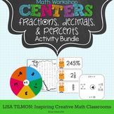 Fractions, Decimals, and Percents Activity Pack