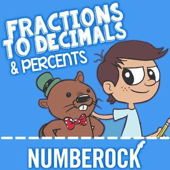 Fractions, Decimals, & Percents: Converting Fractions to Decimals to Percents