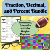 Fractions, Decimal, and Percent Conversions - Project - As