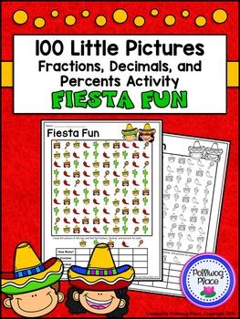 Fractions Decimals and Percents: Fiesta Fun Math Activity {Cinco de Mayo}