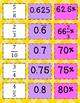 Fractions, Decimals, and Percents Matching