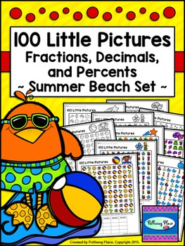 Fractions Decimals and Percents - 100 Little Pictures - Su