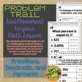 Fractions, Decimals, and Percents Problem Trail