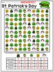 Fractions Decimals and Percents: St. Patrick's Day Math Activity