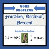 Fractions, Decimals, and Percents Word Problems
