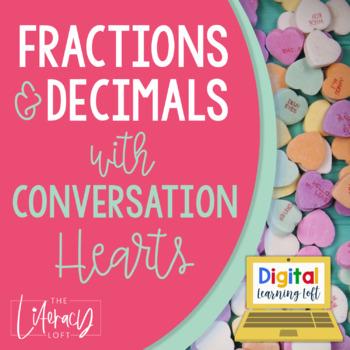Fractions & Decimals {Valentine's Day Math}
