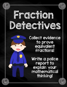 Fractions Detectives (Equivalent Fractions)