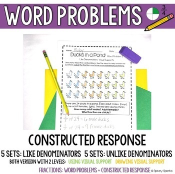 Fractions Differentiated Exemplars & Constructed Response
