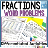 Fraction Word Problems Distance Learning