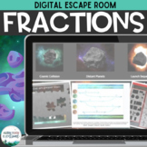 Distance Learning: Fractions Digital Escape Room | Galaxy