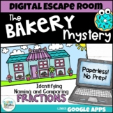 Fractions Digital Escape Room - The Bakery Mystery   Dista