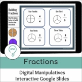 Fractions |  Digital Interactive Visual Models