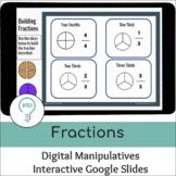 Fractions |  Digital Interactive Visual Models
