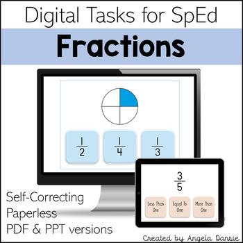 Fractions   Digital Tasks for Special Education