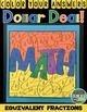 Color By Numbers Equivalent Fractions Dollar Deal