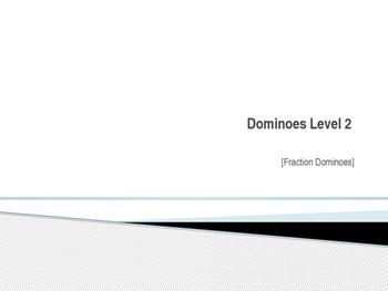 Fractions Dominoes Activity
