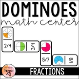 Fractions - Dominoes Math Game