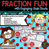 Fractions - Task Cards and Activities