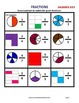 Fractions - Draw a Picture to Match Fractions - Grades 2-4