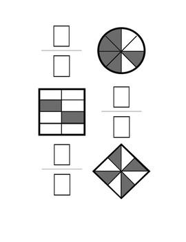 Fractions Dry Erase Activities