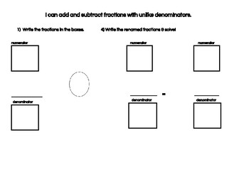 Fractions Dry-Erase Boards
