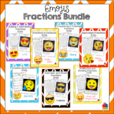 Fractions Emoji Bundle
