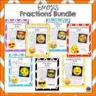 Fractions Emoji Bundle {Save 20%!}