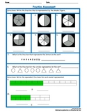 Fractions End of Unit Assessment