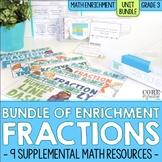 Fraction Enrichment Activities | 3rd Grade Math Workshop o