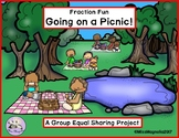 Fractions Equal Shares Going on a Picnic Fraction Fun