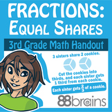 Fractions - Equal Shares pgs. 55-57 (Common Core)