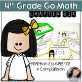 4th Grade Go Math Chapter 6 Fractions Equivalence