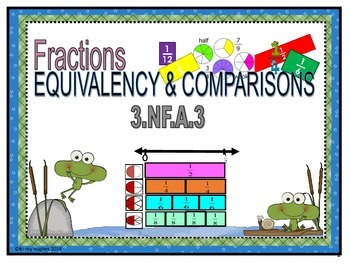 Fractions:  Equivalency & Comparisons