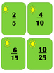 Fractions: Equivalent Cards...Can be a fishing game and much more
