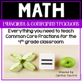 Equivalent Fractions and Comparing Fractions 4th Grade Common Core