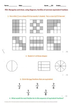 Fractions: Equivalent Fractions