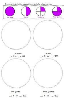 Fractions / Equivalent Fractions Worksheet