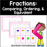 Fractions: Equivalent, Ordering, and Comparing (No Prep)