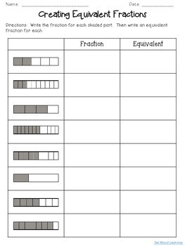 Fractions:  Equivalent, Reducing, Comparing, and Number Lines!