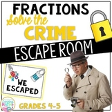 Fractions Escape Room - Fractions Game